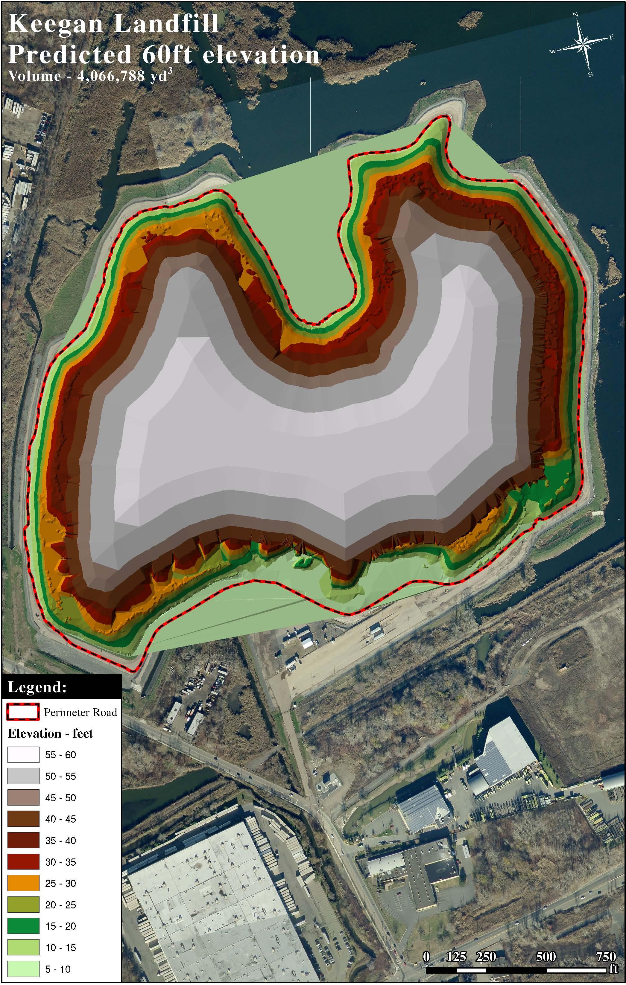 Landfill Topographic Monitoring